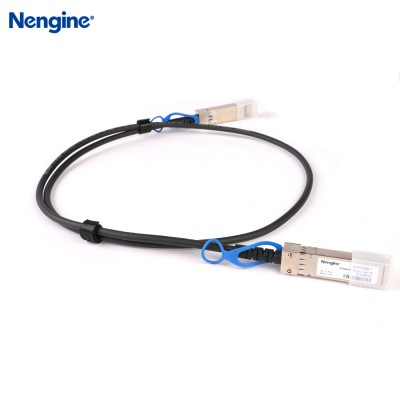 1M 25G SFP28 Passive DAC Copper Cable Assembly 30AWG
