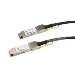 0.5m 40G QSFP+ Passive Direct Attach Copper Cable 30AWG