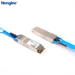 1m 100G QSFP28 Active Optical Cable